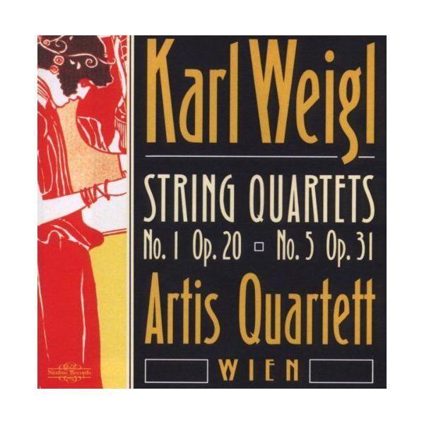 Nimbus Karl Weigl : Quatuors à cordes