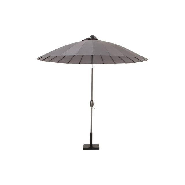 Hespéride Parasol auto-inclinable Boyeros - 2,6 m Ardoise