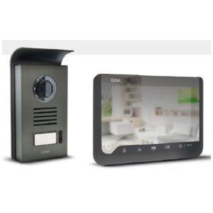extel visiophone 2 fils effet miroir ice pas cher. Black Bedroom Furniture Sets. Home Design Ideas