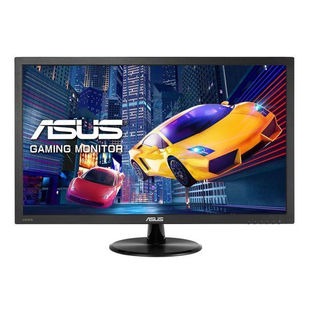 ASUS - Écran 21,5 pouces 1920 x 1080 1ms dalle TN VGA/DVI/HDMI Haut-Parleurs intégrés câble VGA fourni