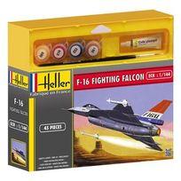 Heller - Maquette avion F-16 Fighting Falcon 1/144 ème