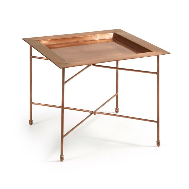 Kavehome Table d'appoint Brand, cuivre