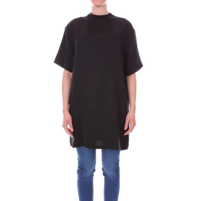 Numero 00 Numero00 Femme 2368BLACK Noir Coton T-shirt