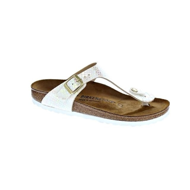 Gizeh Pas Birkenstock Shiny Chaussures Tongs Bf Femme Modele 6g7bfy