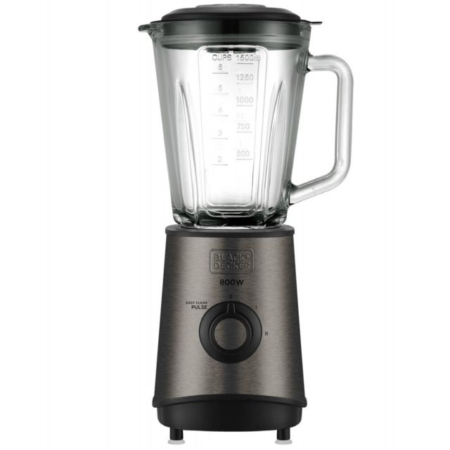 Black & Decker blender 1.5l 800w noir - bxjb800e