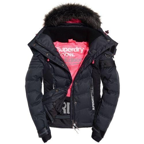les ventes chaudes 66c8e 29ec1 Superdry - Snow Puffer Blouson Ski - pas cher Achat / Vente ...