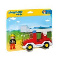 Camion de pompier avec échelle pivotante - 6967