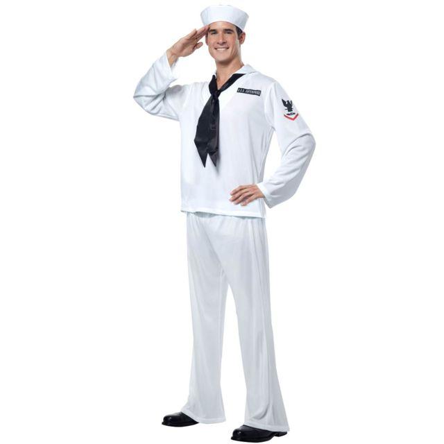 California Costume Costume de Marin Uss Enterprise-Blanc- M