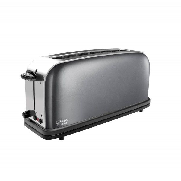 Russell Hobbs Grille pain 1 fente Longue - 1000W Colours Gris 21392-56