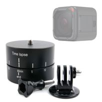 Duragadget - Support Timelapse 360° pour GoPro 1, 2, 3, 3+ Hd, GoPro Hero 4, Hero+ Lcd, Hero4 Session, Hero5 Black, Hero 5 Session