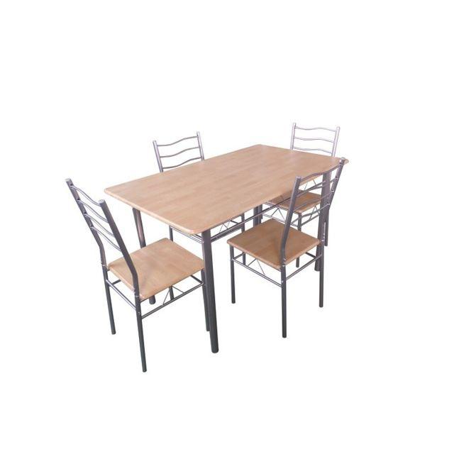 Price Factory Table De Cuisine Et Salle à Manger 4 Chaises
