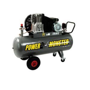 mecafer m cafer power monster compresseur professionnel 3cv 150 litres pas cher achat. Black Bedroom Furniture Sets. Home Design Ideas