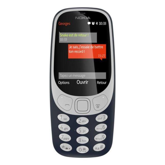 Nokia 3310 2017, Bleu Nuit