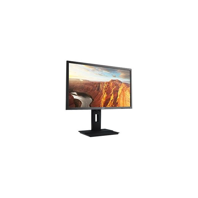 Acer - B246HLymdpr - Écran Led avec Non - 24'' - 1920 x 1080 FullHD - 250 cd m2 - 100000000:1 dynamique 5 ms - Dvi, Vga, DisplayPort - haut-parleurs - gris foncé