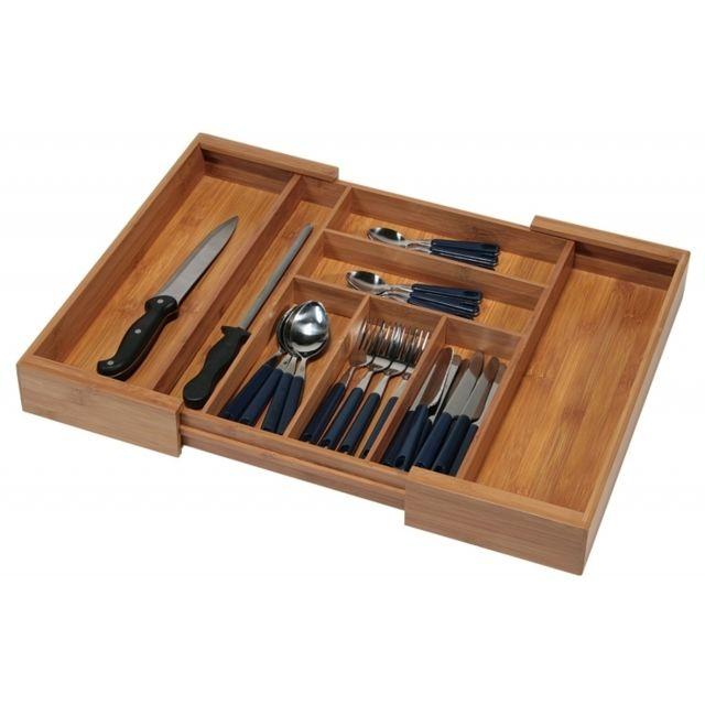 range couverts extensible pour tiroir de cuisine pas. Black Bedroom Furniture Sets. Home Design Ideas