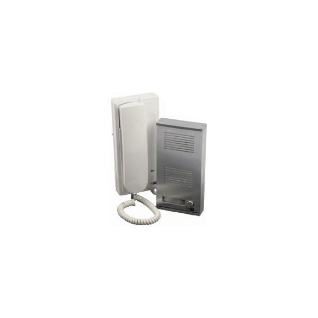 trendy scs sentinel interphone audio fils audiokit audiokit with bodner portier video couleur. Black Bedroom Furniture Sets. Home Design Ideas