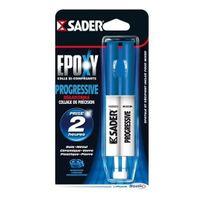 Sader - Colle Seringue Epoxy Progressive 25 ml - 30601297
