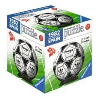 RAVENSBURGER - Puzzleball 54 Pieces : Ballon Foot Adidas De La Coupe du Monde 1982 En Espagne - Puzzle 3D FootBall - Fifa World Cup