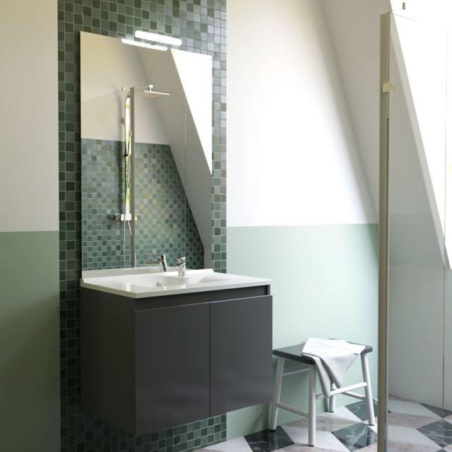 creazur meuble salle de bain simple vasque proline 80. Black Bedroom Furniture Sets. Home Design Ideas