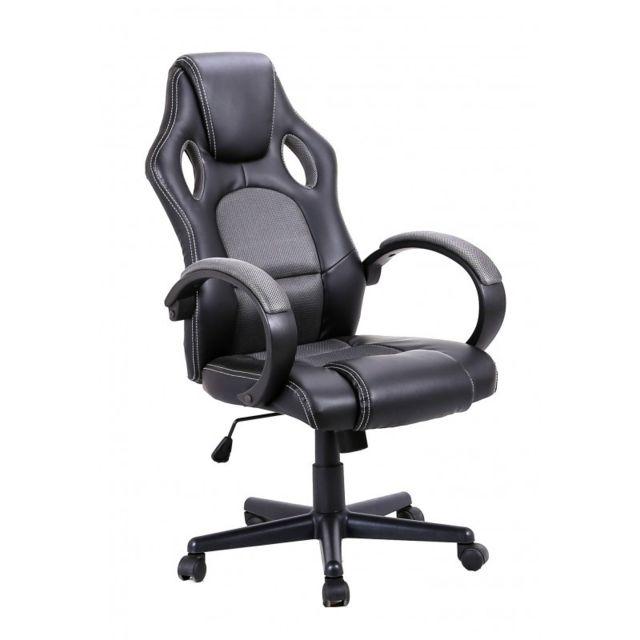 Meubletmoi Fauteuil Bureau Gaming Ergonomique Et Confortable