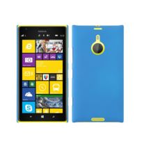 Kabiloo - Coque rigide pour Lumia 1520 Nokia aspect mat toucher rubber gomme coloris bleu