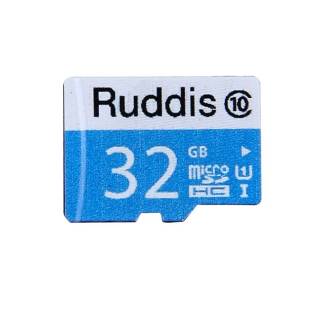 Wewoo - Carte mémoire Micro Sd Ruddis 32 Go haute vitesse classe 10 Tf / Sdxc Uhs-1 U1