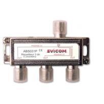 Evicom - répartiteur ulb 5-2300 mhz 3 sorties