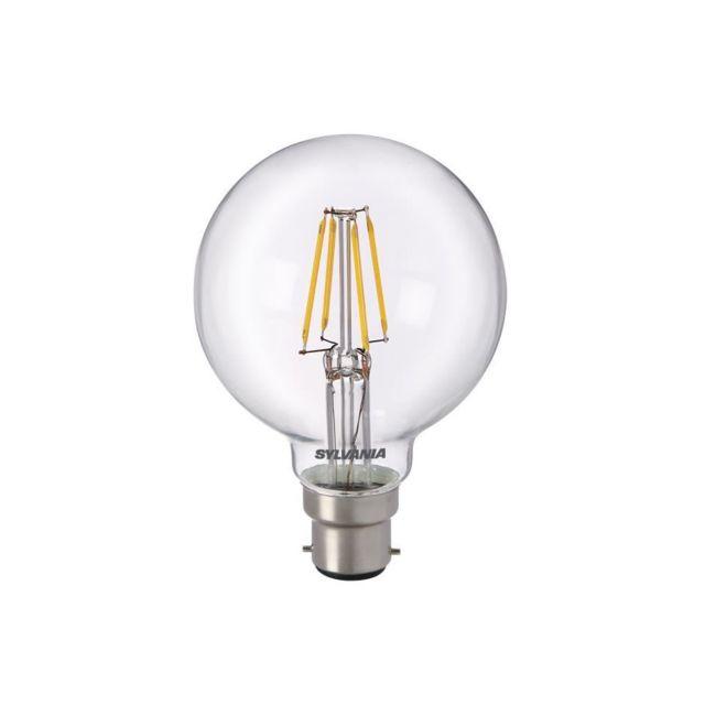 sylvania ampoule led a filament toledo rt g80 b22 5w quivalence 50w pas cher achat vente. Black Bedroom Furniture Sets. Home Design Ideas