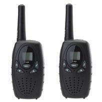 Yonis - Talkie-walkie longue portée 3 à 5 km 8 canaux écran Lcd push to talk
