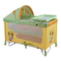 Lit parapluie bébé + mode lit à bascule Nanny 2+ Orange