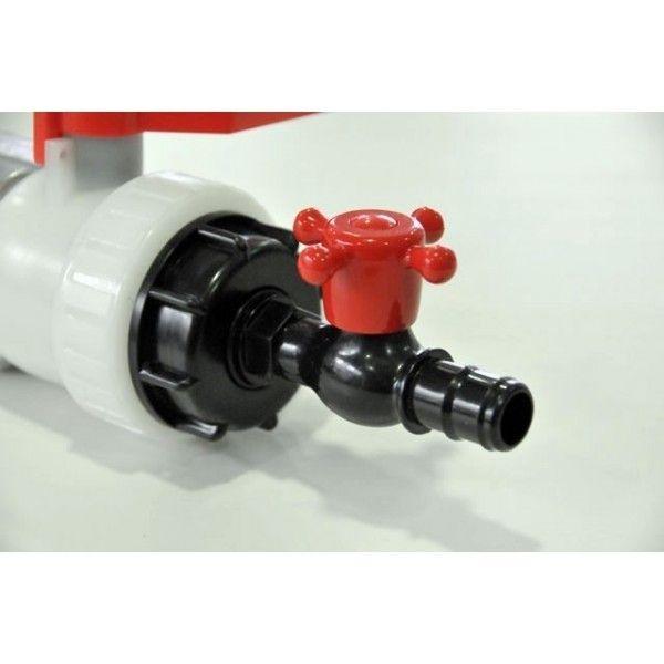 Multitanks Raccord robinet cuve eau Ibc 1000 litres - 25mm