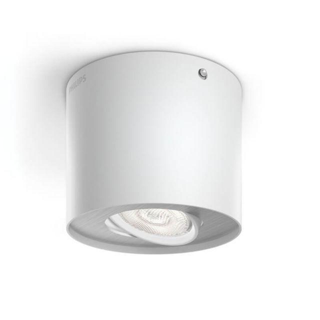 Philips Spot Led orientable Phase D10 cm - Blanc