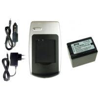 mtb more energy® - Chargeur + Batterie Vw-vbk360 pour Panasonic Sdr-h85, H95, H100, H101, S45, S50, S70