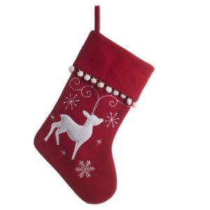 Eminza chaussette de no l renne pas cher achat vente for Eminza magasin