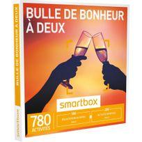 Smartbox - Bulle de bonheur à deux - 780 activités : dégustation ou aventure - Coffret Cadeau
