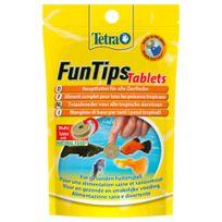 Tetra - Aliment Complet FunTips Tablets de 20 Tablettes pour Poissons Tropicaux