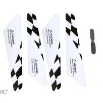 Xciterc - Lot de pièces 12006001 Hélico Flybar 180S - S107G