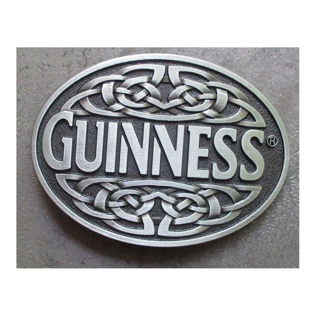 09cdedb4f5ad Universel - Boucle de ceinture biere guinness celtic ovale beer irelande