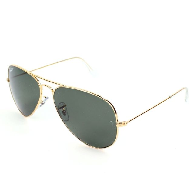 418efbd4a9fb18 Ray-Ban - Ray Ban - Aviator metal Rb3025 001 58 Or - Lunettes de ...