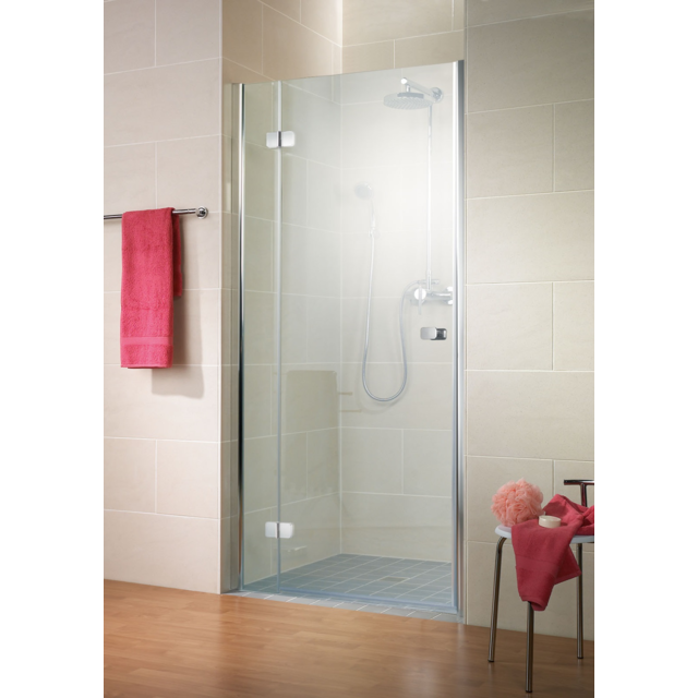 schulte porte de douche pivotante 80 x 200 cm paroi de douche pivotante verre transparent. Black Bedroom Furniture Sets. Home Design Ideas