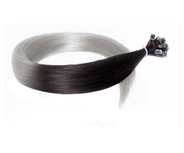 Remy Hair Excellence Extension Keratine Lisse Ombre N 1b