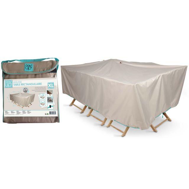 Extension de table de jardin rectangulaire playmood - Leroy merlin housse table jardin nantes ...