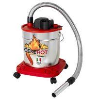 Ribitech - Aspirateur à cendres chaudes Cenehot 18L, 950W
