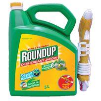 Roundup - désherbant 6h pulvérisateur intégré 5l - 6h5b