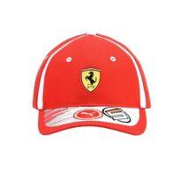 Ferrari F1 - Casquette Ferrari Team 2018 Sebastian Vettel rouge
