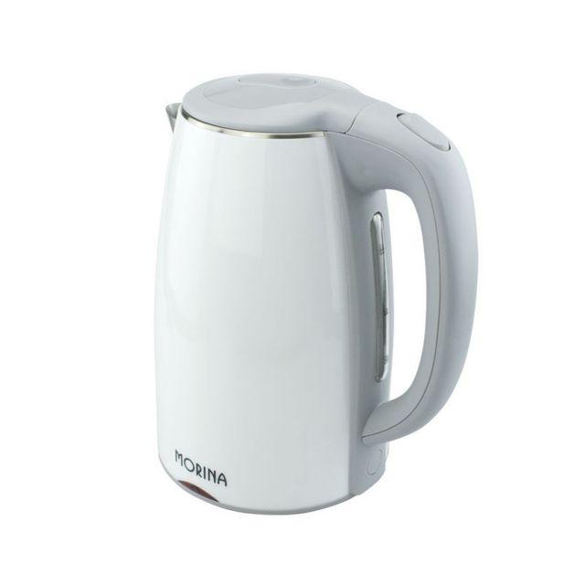 Aqua Occaz Bouilloire électrique 1,7 litres blanche