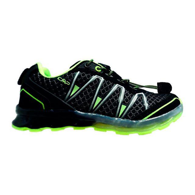 Cmp chaussures atlas noir jaune fluo enfant