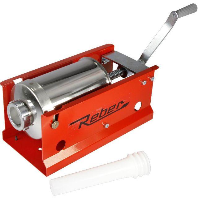 Reber Poussoir à saucisse manuel 8952N Horizontal Capacité 3kg
