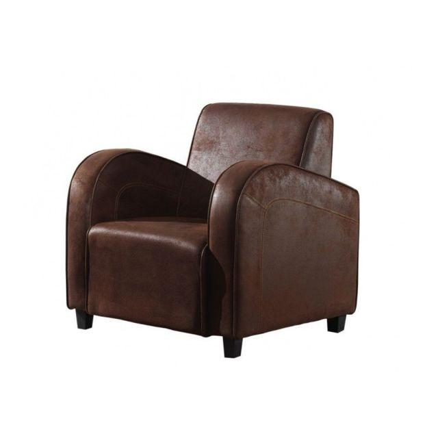 Makossa Le fauteuil Ness est un fauteuil club pin tissu de largeur 71 cm. Ce fauteuil répondra parfaitement aux exigences des am