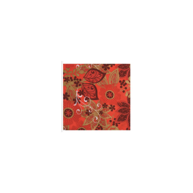 Novastyl Lot de 20 serviettes Poinsettia